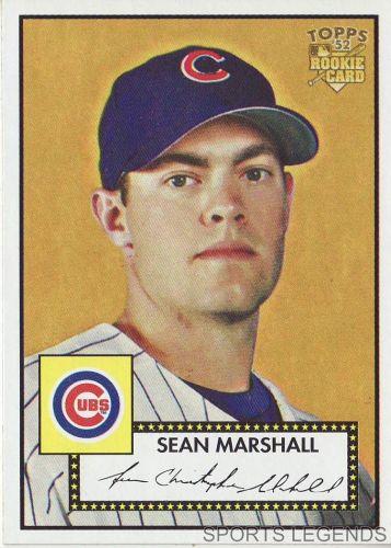 2006 Topps 52 Style #99 Sean Marshall