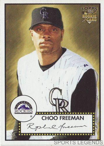 2006 Topps 52 Style #102 Choo Freeman