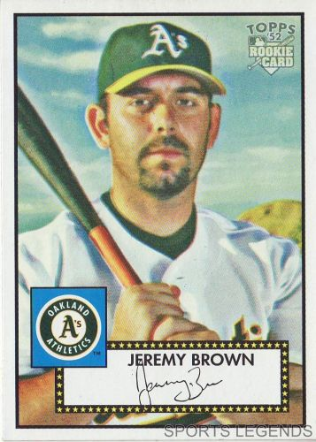 2006 Topps 52 Style #112 Jeremy Brown