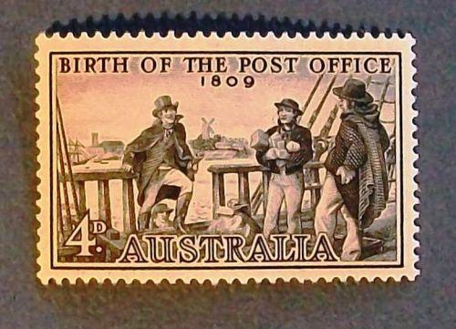 "1959 Australia ""Birth of the Post Office"" Stamp"