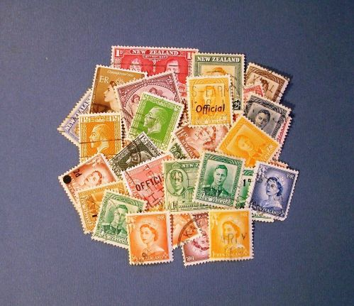 """New Zealand """"Royals - A Variety Pack"""" Stamps"""