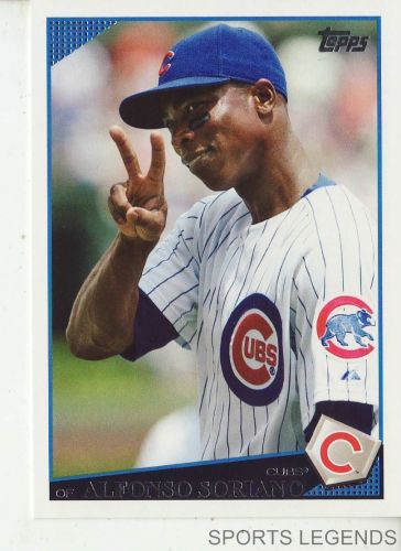 2009 Topps #400 Alfonso Soriano