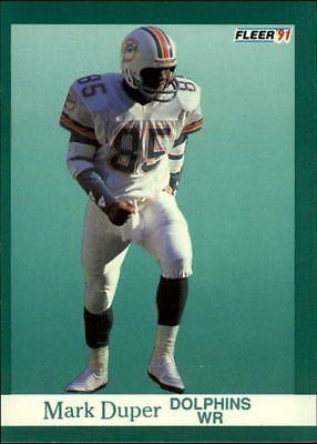 1991 fleer mark duper #119