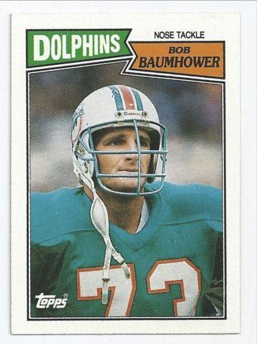 1987 topps bob baumhower #247