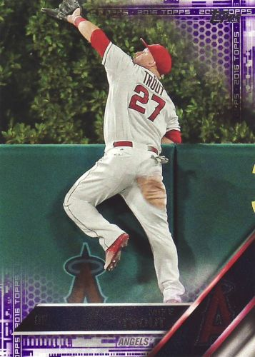 2016 Topps Toys R Us Parallel #1 - Mike Trout - Angels