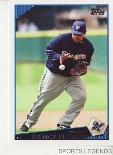 2009 Topps #480 Prince Fielder