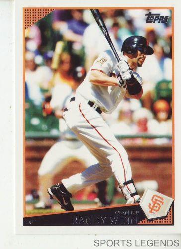 2009 Topps #549 Randy Winn