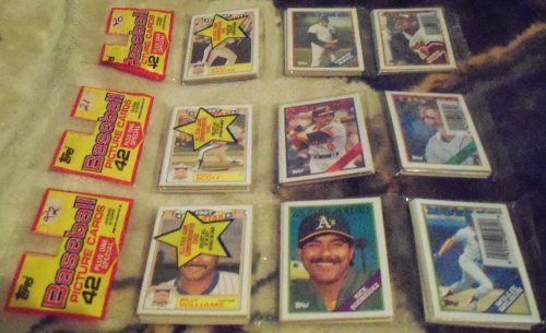 1988 TOPPS 22 RACK PACKS NEW SEALED