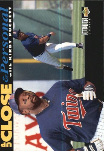 1994 collector's choice #638 kirby puckett