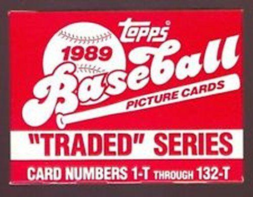 1989 TOPPS BASEBALL TRADED SET MINT KEN GRIFFEY JR. R/C #41T / RANDY JOHNSON R/C #57T