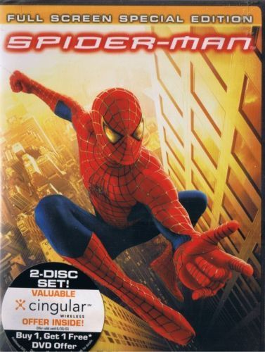 SPIDER-MAN SPECIAL EDITION TWO DISC SET FULL FRAME DVD NEW SEALED