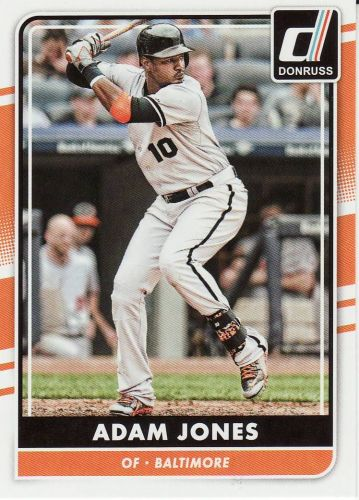 2016 Donruss #140 - Adam Jones - Orioles