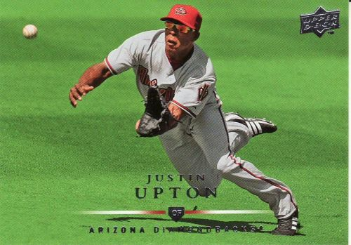 2008 Upper Deck #405 - Justin Upton - Diamondbacks