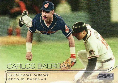 2015 Stadium Club #168 - Carlos Baerga - Indians