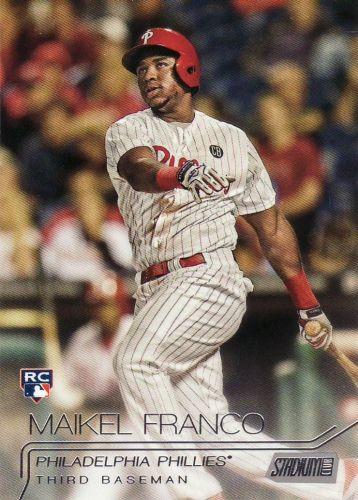 2015 Stadium Club #116 - Maikel Franco - Phillies