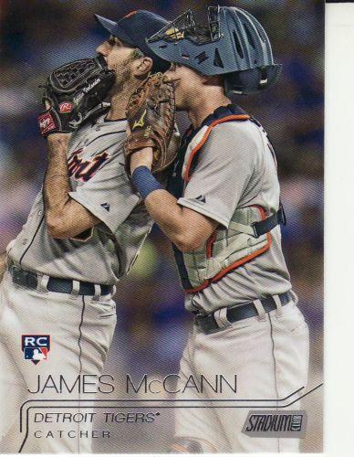 2015 Stadium Club #70 - James McCann - Tigers