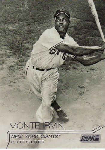 2015 Stadium Club #81 - Monte Irvin - Giants