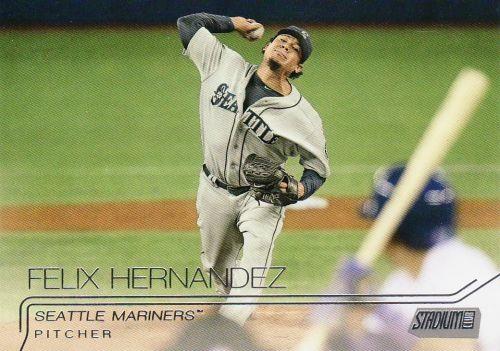 2015 Stadium Club #233 - Felix Hernandez - Mariners