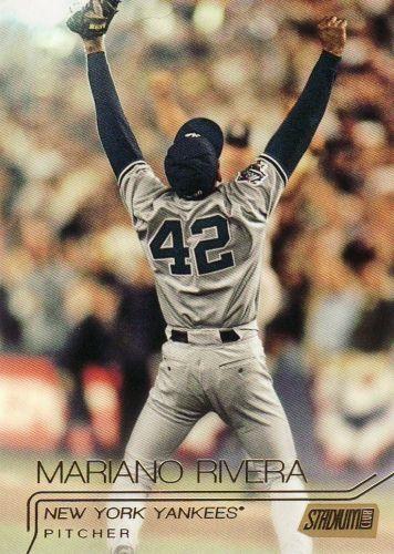 2015 Stadium Club Gold #34 - Mariano Rivera - Yankees