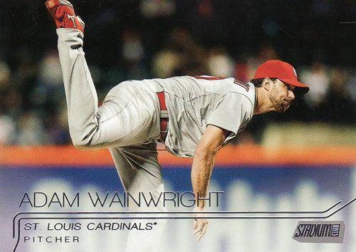2015 Stadum Club #74 - Adam Wainwright - Cardinals