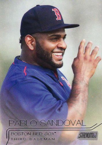 2015 Stadium Club #287 - Pablo Sandoval - Red Sox