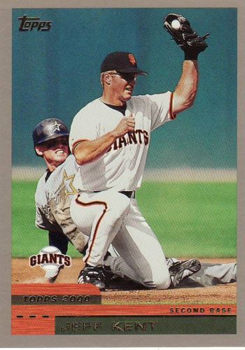 2000 Topps #193 - Jeff Kent - Giants