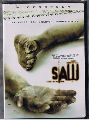 SAW DVD IS NEW SEALED