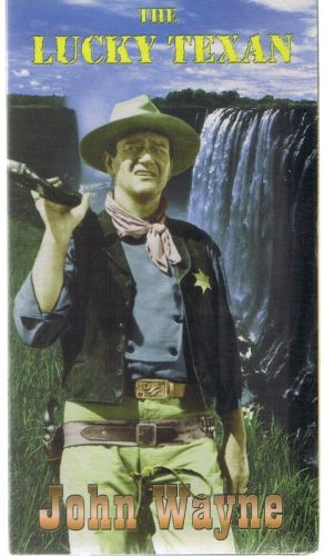 JOHN WAYNE THE LUCKY TEXAN NEW SEALED