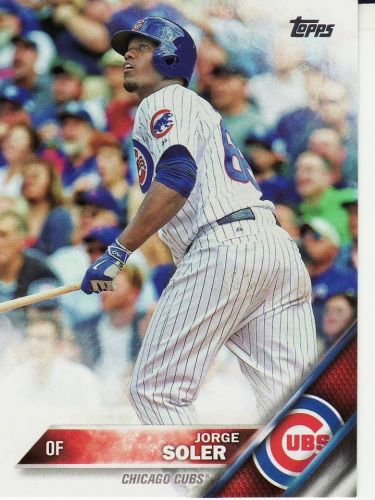 2016 Topps #252 - Jorge Soler - Cubs