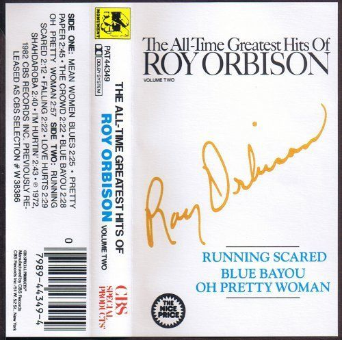ROY ORBISON THE ALL TIME HITS OF VOL.2