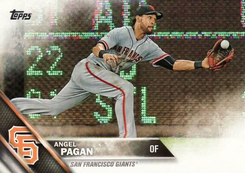 2016 Topps #299 - Angel Pagan - Giants