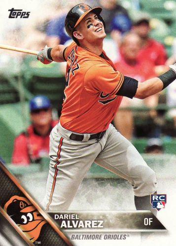 2016 Topps #311 - Dariel Alvarez - Orioles