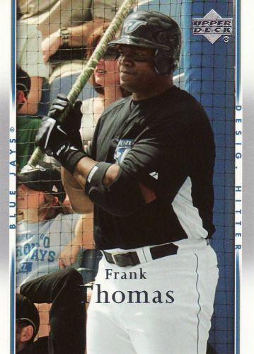 2007 Upper Deck #1004 - Frank Thomas - Blue Jays
