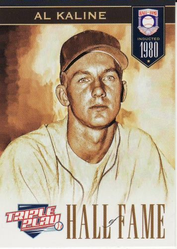 2012 Triple Play #281 - Al Kaline - Tigers