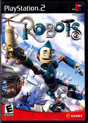 Robots - Playstation 2, 2005 Video Game - COMPLETE - Very Good
