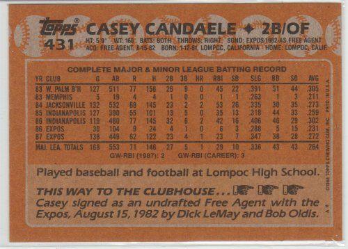 DEVON WHITE 1988 TOPPS #192 PACK FRESH
