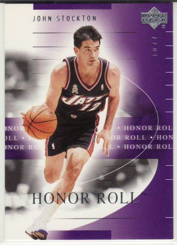 2001-02 Upper Deck Honor Roll #87 - John Stockton - Jazz