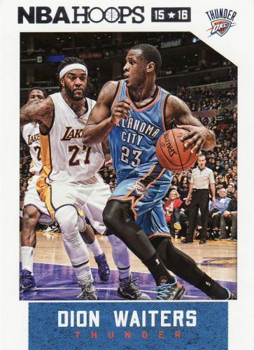 2015-16 Hoops #149 - Dion Waiters - Thunder