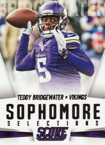 2015 Score Sophmore Selections #15 - Teddy Bridhewater - Vikings