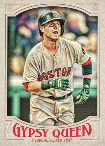 2016 Gypsy Queen #149 - Dustin Pedroia - Red Sox