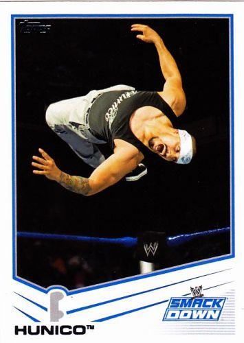Hunico #59 - WWE 2013 Topps Wrestling Trading Card