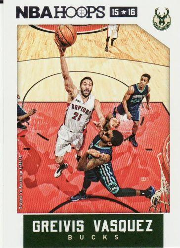 2015-16 Hoops #121 - Greivis Vasquez - Bucks