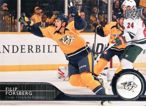 2014-15 Upper Deck #114 - Filip Forsberg - Predators