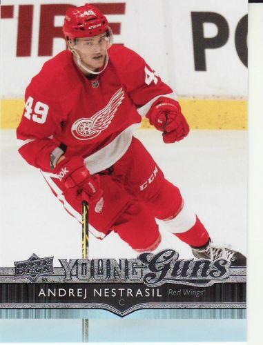 2014-15 Upper Deck #222 - Andrej Nestrasil - Red Wings