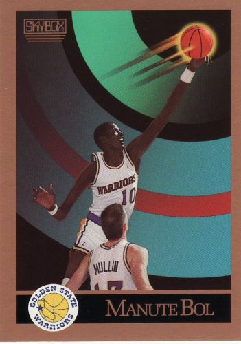 1990-91 Skybox #94 - Manute Bol - Warriors