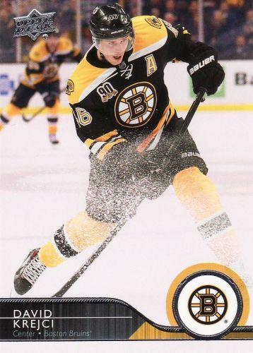 2014-15 Upper Deck #20 - David Krejci - Bruins