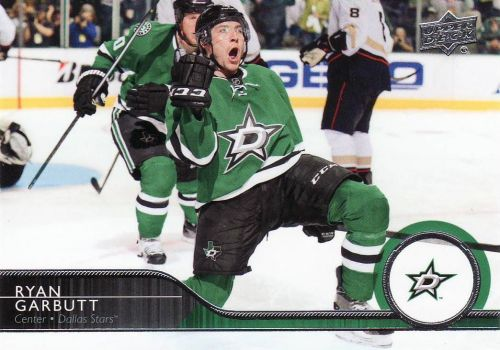2014-15 Upper Deck #61 - Ryan Garbutt - Stars