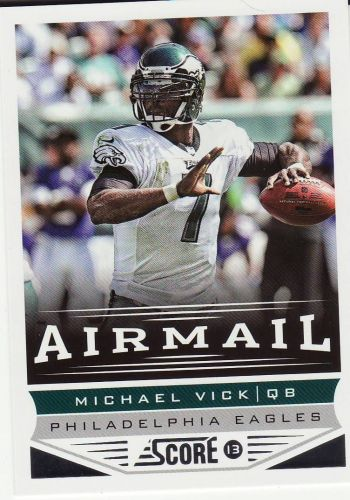 2013 Sore #244 - Michael Vick - Eagles