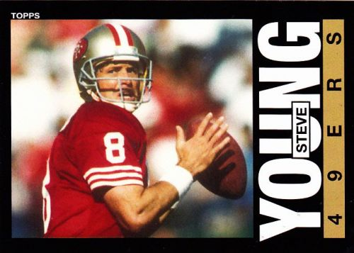 Steve Young #55 - 49ers 2013 Topps Archives Football Trading Card