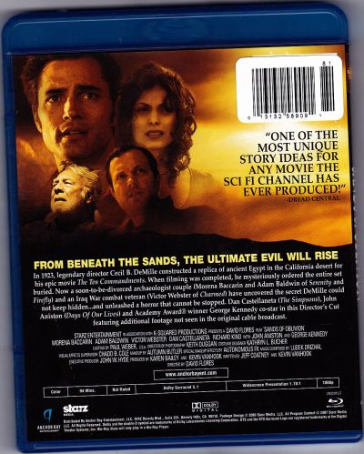 Sands of Oblivion - Blu-ray Disc 2009 - Like New